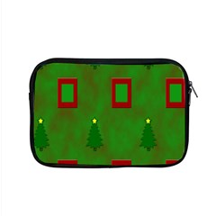 Christmas Trees And Boxes Background Apple Macbook Pro 15  Zipper Case