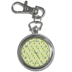 Christmas Wrapping Paper Pattern Key Chain Watches