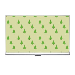 Christmas Wrapping Paper Pattern Business Card Holders