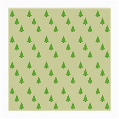 Christmas Wrapping Paper Pattern Medium Glasses Cloth (2-Side)