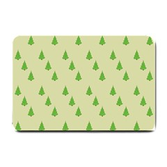 Christmas Wrapping Paper Pattern Small Doormat