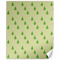 Christmas Wrapping Paper Pattern Canvas 11  x 14