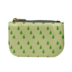 Christmas Wrapping Paper Pattern Mini Coin Purses