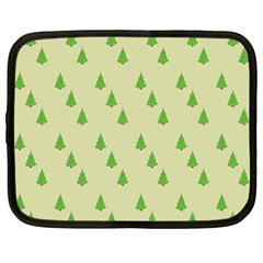Christmas Wrapping Paper Pattern Netbook Case (XL)