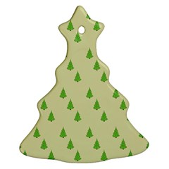Christmas Wrapping Paper Pattern Ornament (Christmas Tree)