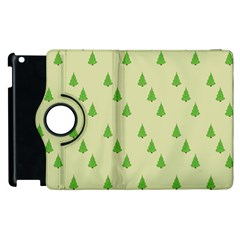 Christmas Wrapping Paper Pattern Apple iPad 3/4 Flip 360 Case