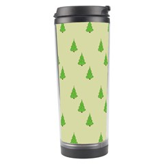 Christmas Wrapping Paper Pattern Travel Tumbler