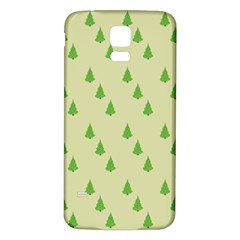 Christmas Wrapping Paper Pattern Samsung Galaxy S5 Back Case (White)