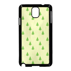 Christmas Wrapping Paper Pattern Samsung Galaxy Note 3 Neo Hardshell Case (Black)
