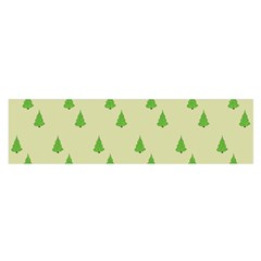Christmas Wrapping Paper Pattern Satin Scarf (Oblong)