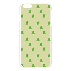 Christmas Wrapping Paper Pattern Apple Seamless iPhone 6 Plus/6S Plus Case (Transparent)