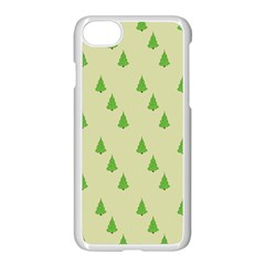 Christmas Wrapping Paper Pattern Apple Iphone 7 Seamless Case (white)