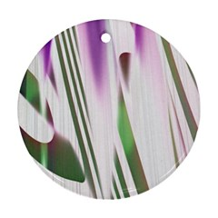Colored Pattern Ornament (Round)