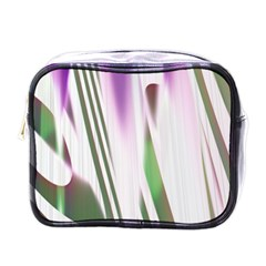 Colored Pattern Mini Toiletries Bags