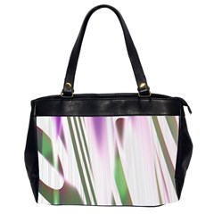 Colored Pattern Office Handbags (2 Sides)