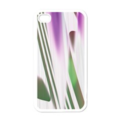 Colored Pattern Apple iPhone 4 Case (White)