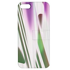 Colored Pattern Apple iPhone 5 Hardshell Case with Stand