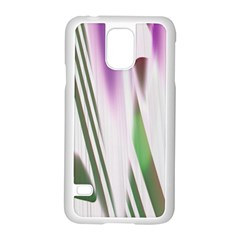 Colored Pattern Samsung Galaxy S5 Case (White)