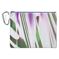 Colored Pattern Canvas Cosmetic Bag (XXL)