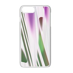 Colored Pattern Apple Iphone 7 Plus White Seamless Case