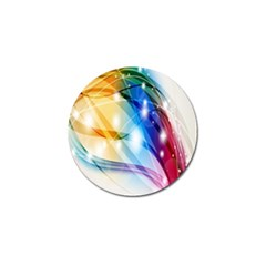 Colour Abstract Golf Ball Marker (10 pack)