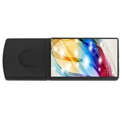 Colour Abstract USB Flash Drive Rectangular (1 GB)