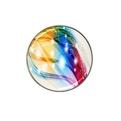 Colour Abstract Hat Clip Ball Marker (4 pack)