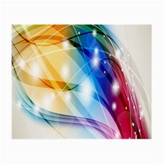 Colour Abstract Small Glasses Cloth