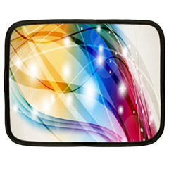 Colour Abstract Netbook Case (Large)