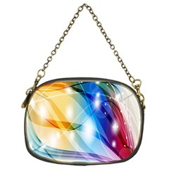 Colour Abstract Chain Purses (One Side)
