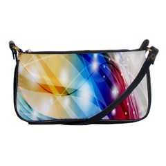 Colour Abstract Shoulder Clutch Bags