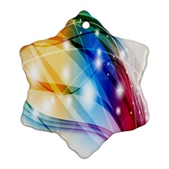 Colour Abstract Ornament (Snowflake)