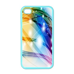Colour Abstract Apple iPhone 4 Case (Color)