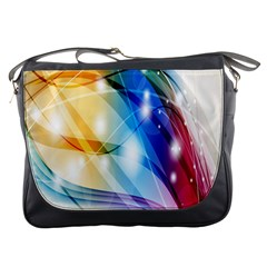Colour Abstract Messenger Bags