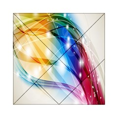 Colour Abstract Acrylic Tangram Puzzle (6  x 6 )