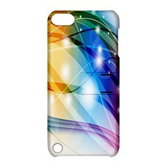 Colour Abstract Apple Ipod Touch 5 Hardshell Case With Stand