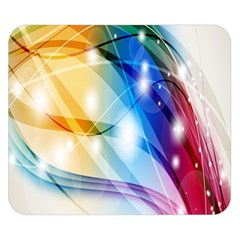 Colour Abstract Double Sided Flano Blanket (Small)
