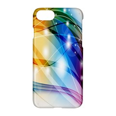 Colour Abstract Apple Iphone 7 Hardshell Case