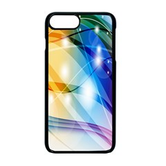 Colour Abstract Apple Iphone 7 Plus Seamless Case (black)