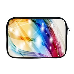 Colour Abstract Apple Macbook Pro 17  Zipper Case