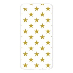 Gold Stars Apple Seamless iPhone 6 Plus/6S Plus Case (Transparent)