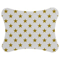 Gold Stars Jigsaw Puzzle Photo Stand (Bow)