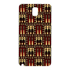 Egyptianpattern Colour Red Samsung Galaxy Note 3 N9005 Hardshell Back Case