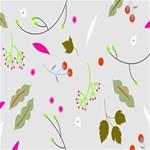 High Res Leaf Flower Fruit Storage Stool 12   Back