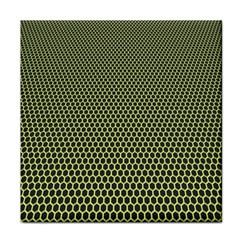Hexagon Green Tile Coasters
