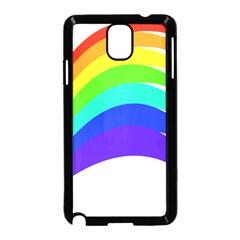 Rainbow Samsung Galaxy Note 3 Neo Hardshell Case (black)