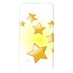Star Gold Galaxy Note 4 Back Case