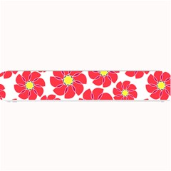 Seamless Floral Flower Red Fan Red Rose Small Bar Mats