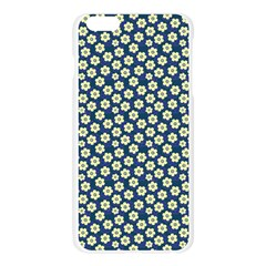 Floral Seamless Flower Blue Apple Seamless iPhone 6 Plus/6S Plus Case (Transparent)
