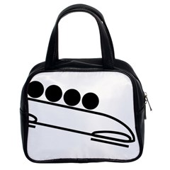 Bobsleigh Pictogram Classic Handbags (2 Sides)